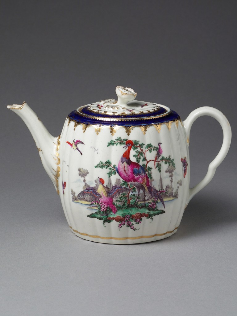 Worcester Dr Wall teapot