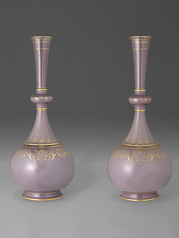 Sévres vases of Islamic shape