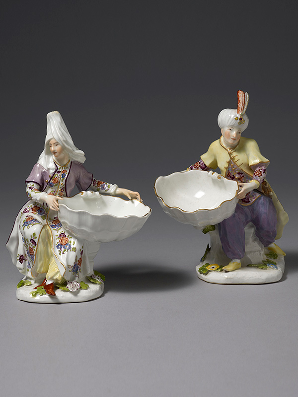 Meissen Turkish Sweetmeat Stands