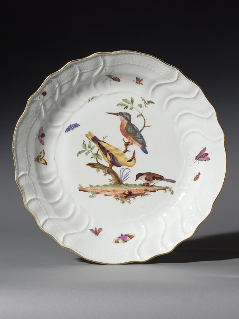Meissen Bird Charger (needs text)
