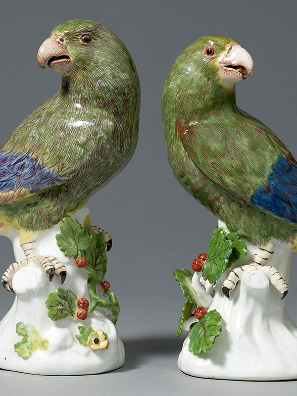 Meissen Parrots (needs text)