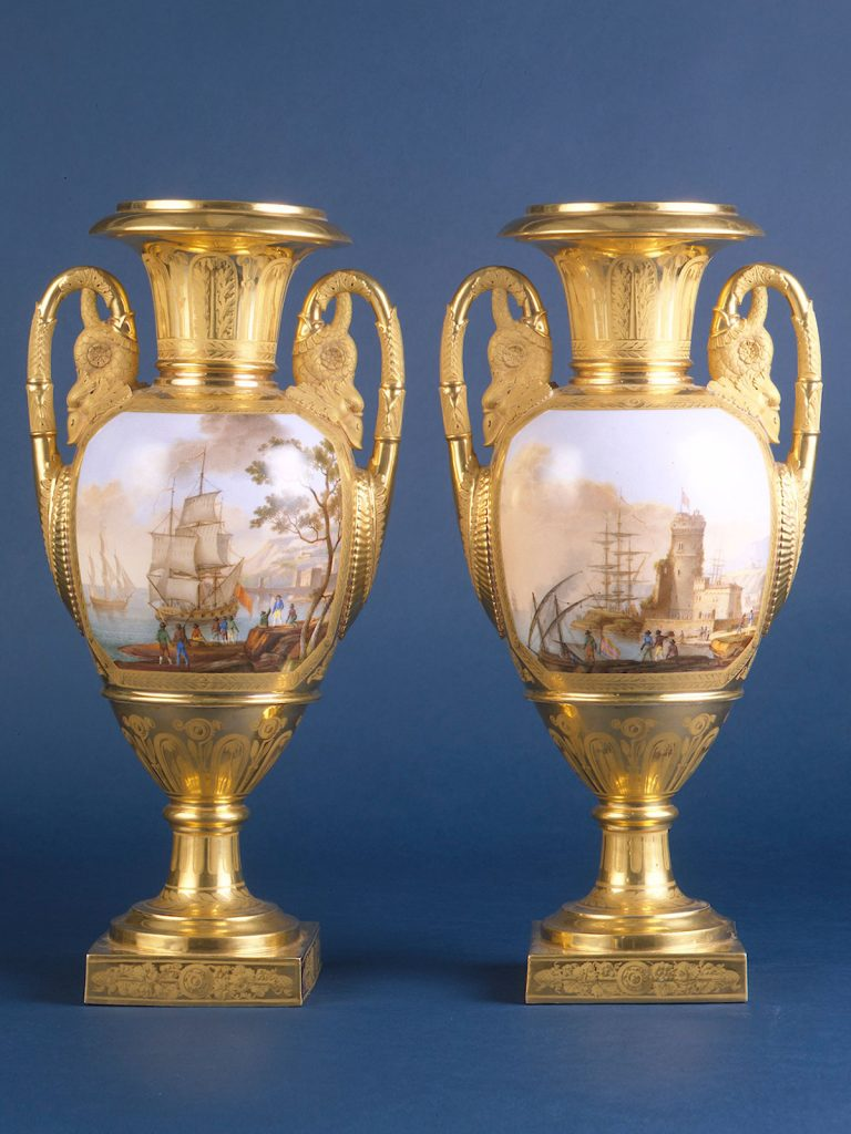 Pair of Paris Vases circa 1810