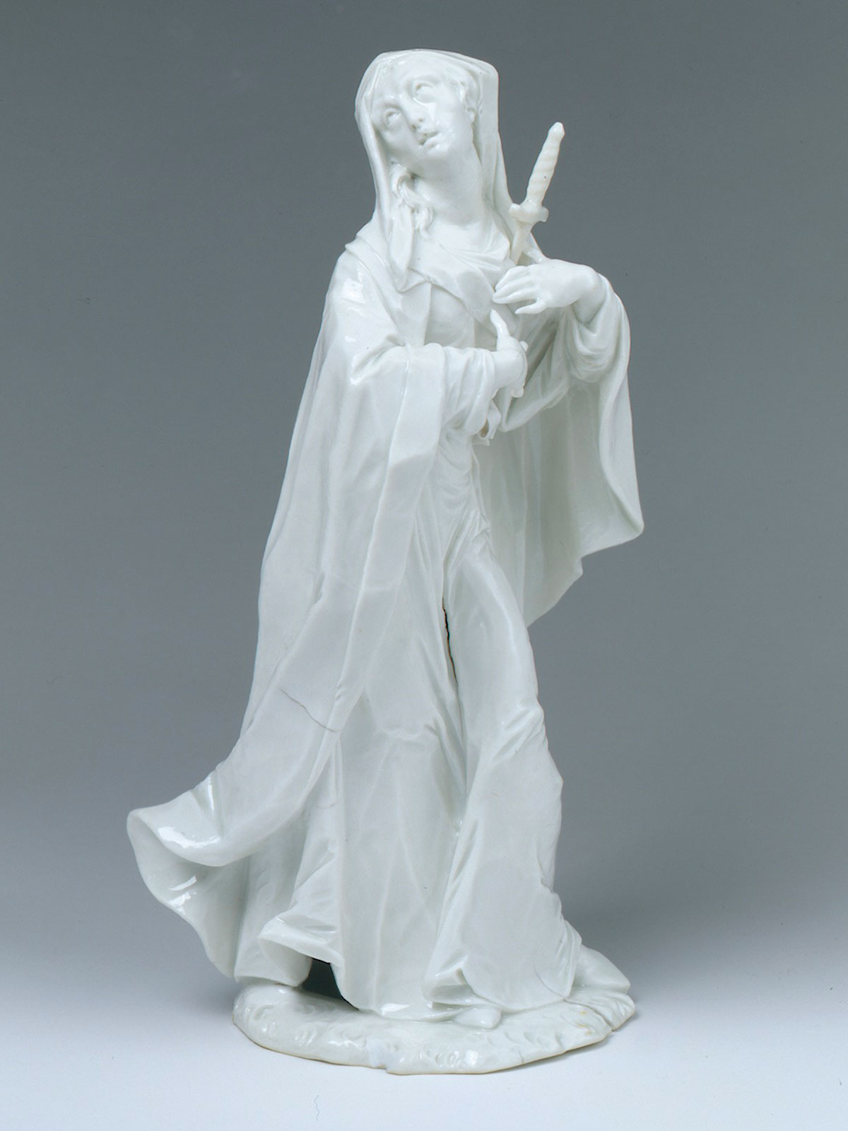 Nymphenburg Figure of The Mater Dolorosa, modelled by Bustelli circa 1765