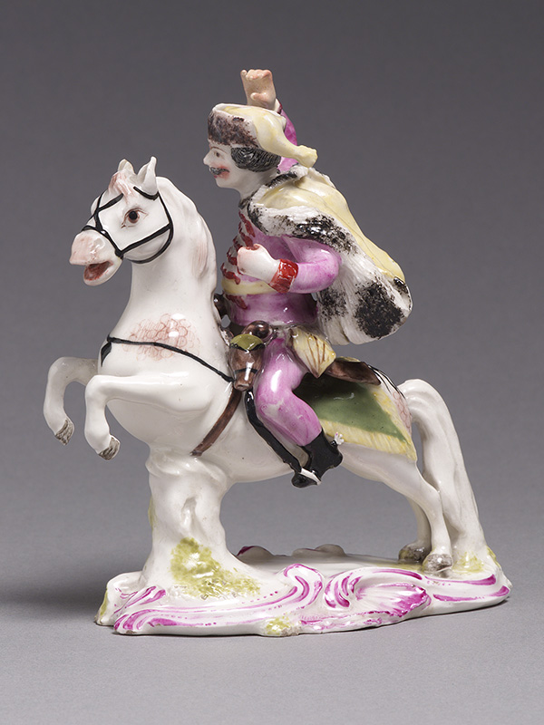 Bow Model of a Hussar on Horseback