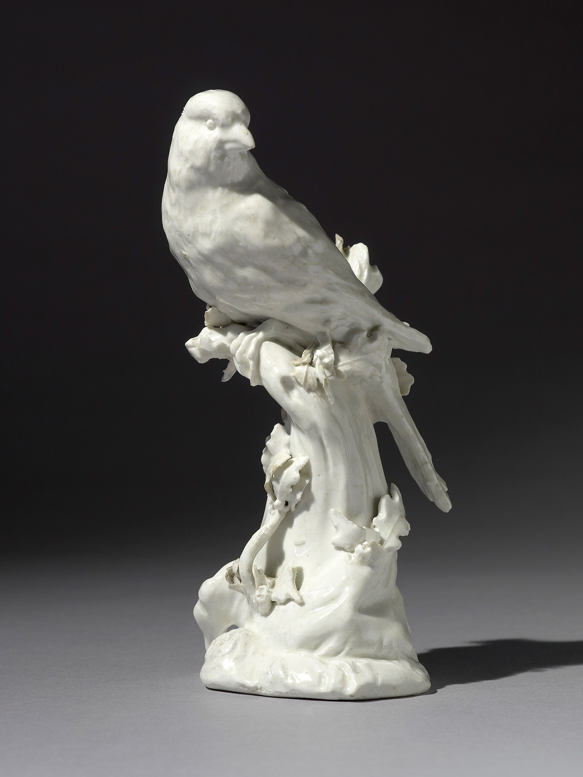 Chelsea Model of a Finch perched in a tree