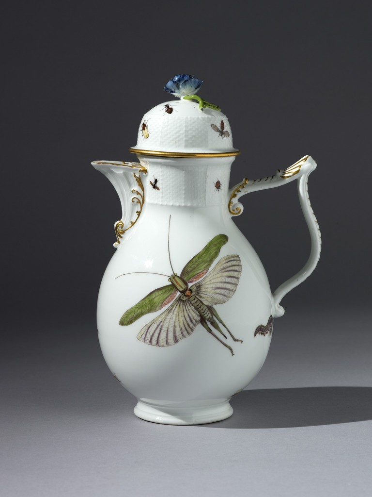 Meissen Coffee Pot and Cover
