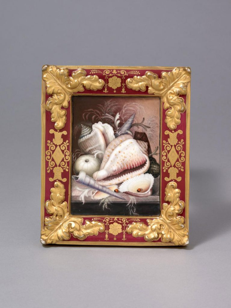 A Pair of Chamberlain Worcester Porcelain Plaques